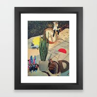 from nowhere to nowhere 1 Framed Art Print