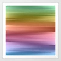 Whispered Rainbow Art Print