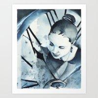 L'Inconnue De XXI Siècl… Art Print