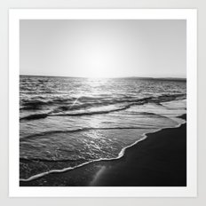 BEACH DAYS XIV Art Print