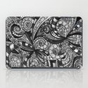 Drawing Floral Zentangle G6 iPad Case