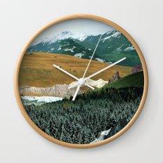 Experiment am Berg 21 Wall Clock