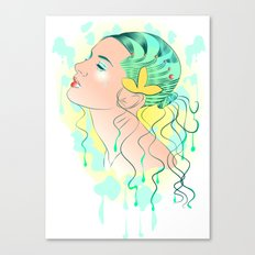 Lady Of The Sea Canvas Print