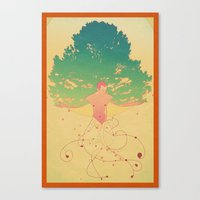 Otium Canvas Print
