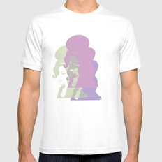 Amy 2 Mens Fitted Tee SMALL White