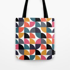 Quarter pattern Tote Bag