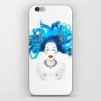 Dreamy girl iPhone & iPod Skin