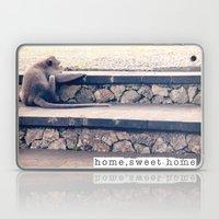 HOME SWEET HOME SERIES - MONKEY Laptop & iPad Skin