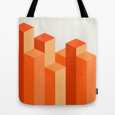 Geometric City Tote Bag