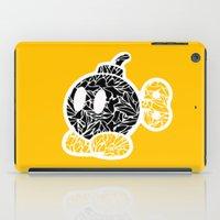 Bob Omb #CrackedOutBadGu… iPad Case