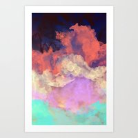 sun Art Prints featuring Into The Sun by Galaxy Eyes