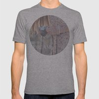 Girl Mens Fitted Tee Athletic Grey SMALL