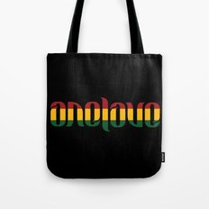 One Love Ambigram  Tote Bag