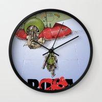BobAkira Wall Clock
