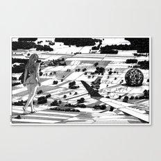 asc 599 - L'événement (The long journey home) Canvas Print