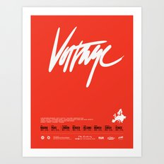 Voltage - Poster Variant Art Print