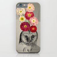 flower owl iPhone 6 Slim Case