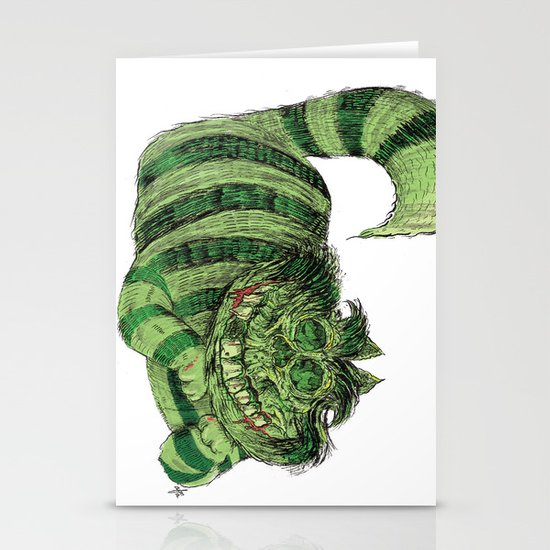 Cheshire Stationery Card