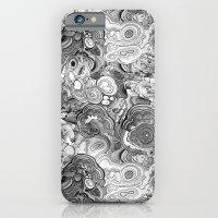 Malachite Black And Whit… iPhone 6 Slim Case