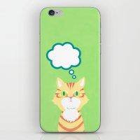 Cat 2-British Shorthairs iPhone & iPod Skin