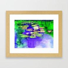 Secret Pond Framed Art Print