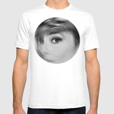 ArcFace - Audrey Hepburn  Mens Fitted Tee White SMALL