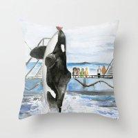 Marine Star Throw Pillow