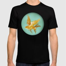 Flying Fish Mens Fitted Tee Black SMALL