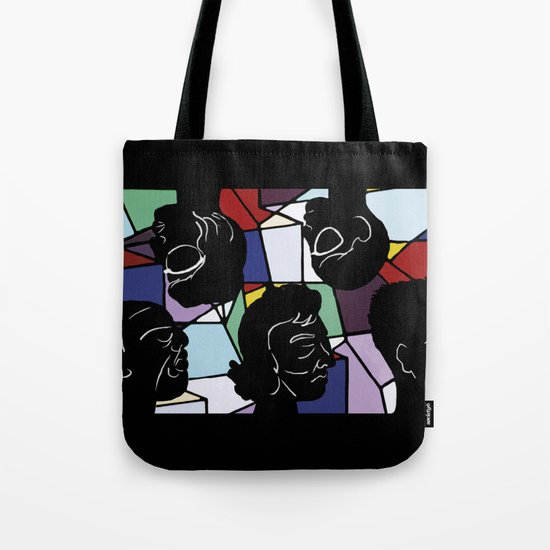 """In Our Heads"" by Virginia McCarthy Tote Bag"