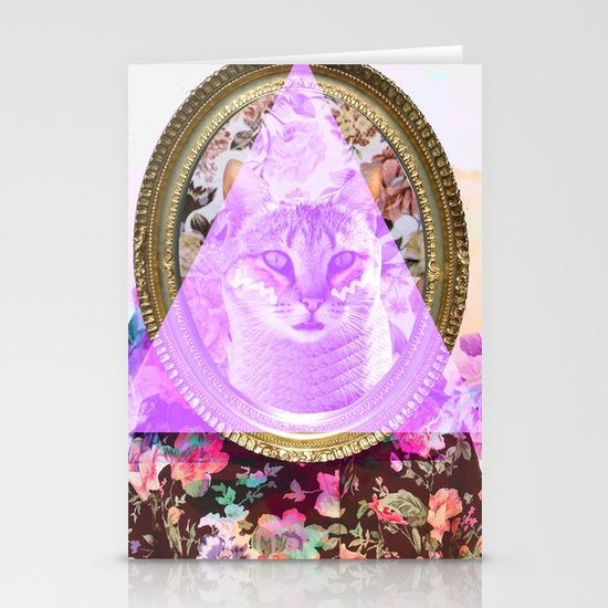 Mirror mirror on the wall who's the fairest of them all Stationery Card