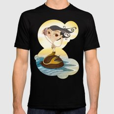Sirena Black Mens Fitted Tee SMALL