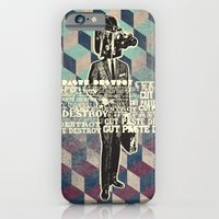 iPhone & iPod Case featuring cut.paste.destroy by matto