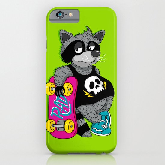 Really Radical Raccoon iPhone & iPod Case