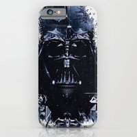darth vader iPhone & iPod Cases featuring Darth Vader by qualitypunk