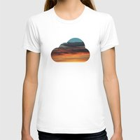 clouds T-shirts featuring CLOUDS by Dr. Lukas Brezak