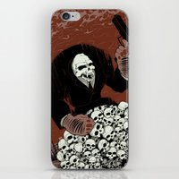 Monkey Skull Suit iPhone & iPod Skin