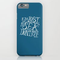 iPhone & iPod Case featuring Lost at Sea by Chris Piascik