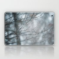 Snowy Winter Branches Laptop & iPad Skin