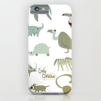 iPhone & iPod Case featuring Animals by LadyCarrotte