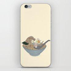 THE GREAT SLURP iPhone & iPod Skin
