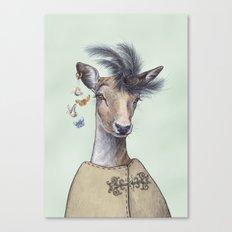 Oh deer, that´s posh! Canvas Print
