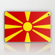 Flag Of Macedonia - Auth… Laptop & iPad Skin