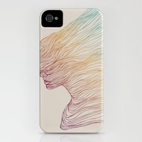iPhone 4s & iPhone 4 Cases featuring FADE by Huebucket