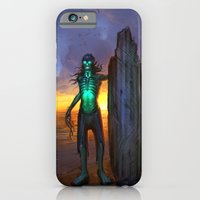 iPhone & iPod Case featuring Toxic Surfer by Joel Hustak
