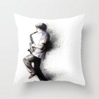 Refreska Throw Pillow