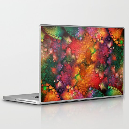 Dragon's tail pattern Laptop & iPad Skin