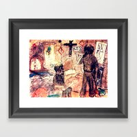 Sure Its Only A Bit Of F… Framed Art Print