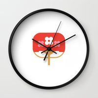 Japan Fan Wall Clock