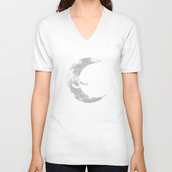 Moon Hug V-neck T-shirt