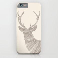 Stag / Deer (On Beige) Slim Case iPhone 6s